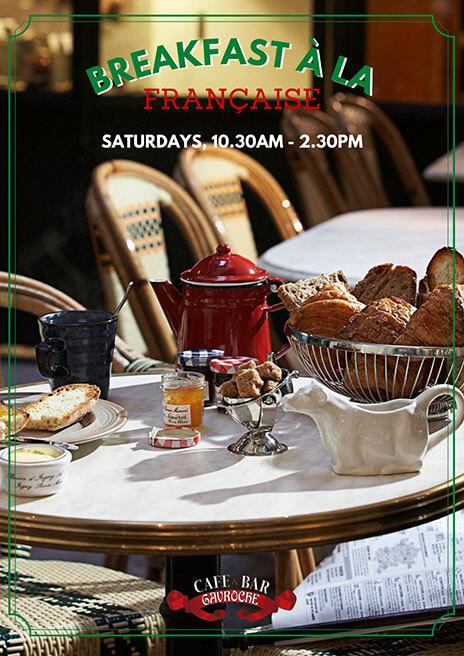 Saturday Breakfast À La Française